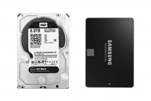 تفاوت هارد دیسک SDD , HDD