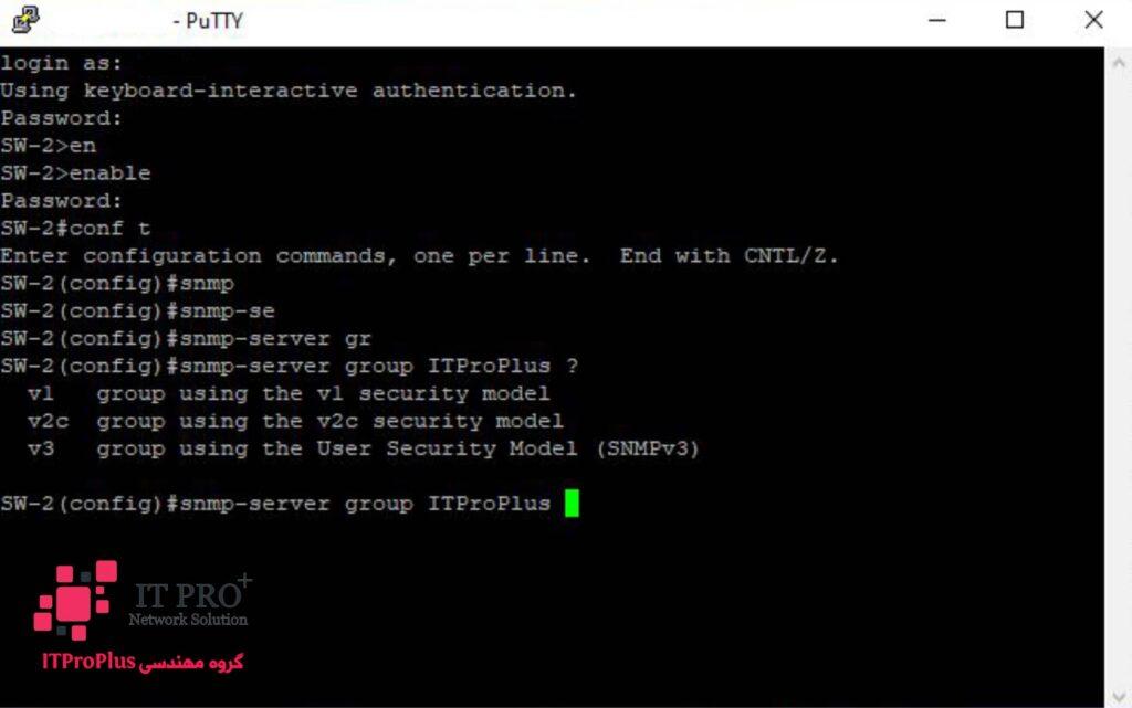 خدمات IT   مجازی سازی   امنیت شبکه   خدمات سرور   خدمات مایکروسافت   خدمات شبکه   خدمات شبکه و سرور   دوربین مداربسته   طراحی سایت   ITProPlus   پیکربندی و فعالسازی SNMP در سیسکو