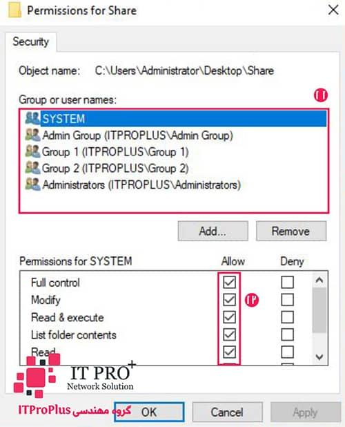 راه اندازی فایل سرور | راه اندازی File Server | File Sharing Server
